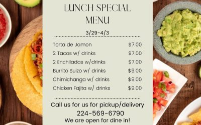 Lunch Specials, Week of March 29, 2021